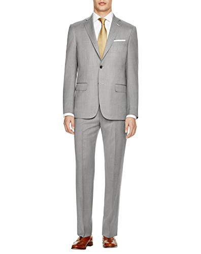 Hart Schaffner Marx Mens York Classic Fit Sharkskin, used for sale  Delivered anywhere in USA