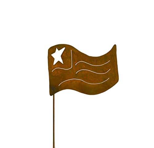 American Flag Metal Garden Stake, Lawn/Yard Art
