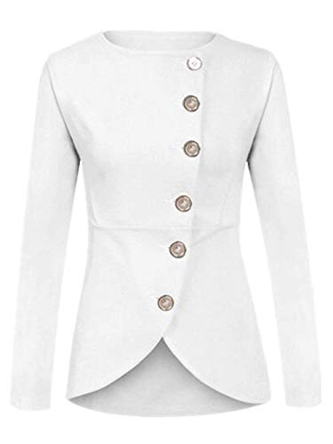 Manteau Femme Printemps Automne Unicolore Jacket
