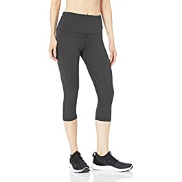 Amazon Essentials Women's Studio Sculpt High-Rise Capri Yoga Legging
