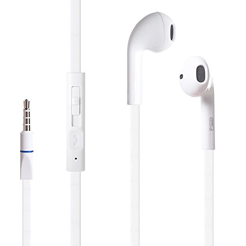 PowerTech-In-Ear-Earbud-Headphones-P-T500White-Ergonomic-Comfort-Fit-with-Built-in-Mic-and-Volume-Control-for-Apple-iPhone-iPad-Samsung-Galaxy-LG-Nexus-and-More