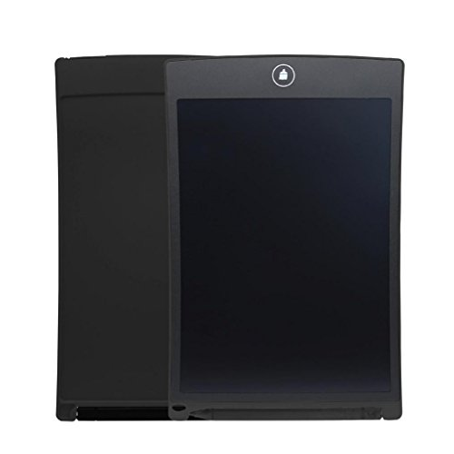 12-inch LCD eWriter Paperless Memo Pad Tablet Writing Drawing Graphics Board (Black)