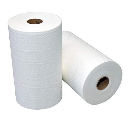 MTS PV1354 Verkoper netversterkte handdoek rollen, 60m x 23cm, wit, 12 stuks