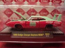 DieCast 1969 Dodge Charger Daytona HEMI Coca Cola M2 Machines 1:64 Limited Edition