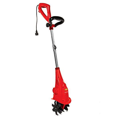 Sun Joe TJ599E-RED Aardvark 2.5 Amp Electric Garden Cultivator, Red