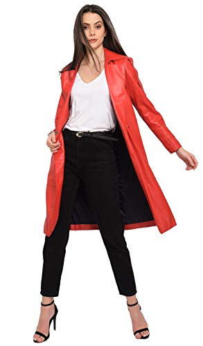 Rouge 63142 Cuir En Trench Oakwood zvnqIFvx