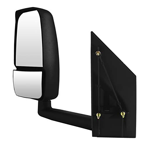 Drivers Power Side View Mirror Textured Replacement for Saturn Chevrolet Pontiac SUV 15873076