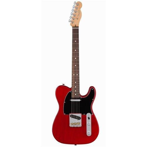 Fender American Professional Telecaster Guitar Rosewood ASH Crimson Red Transparent