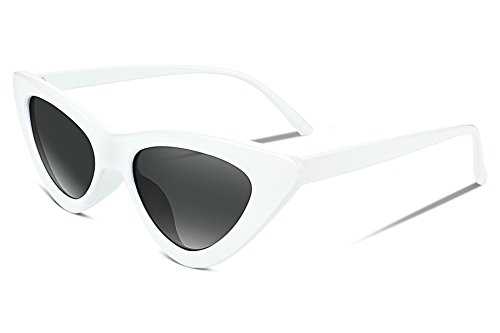 FEISEDY Retro Cat Eye Sunglasses Kurt Cobain Clout Goggles Triangle Frame - Sunglasses Eye Cat
