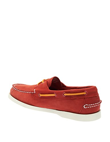 Docksides Shoes Men's Sebago Red Leather Nubuck vYwFw5nq