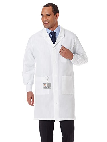 Meta Fluid-Resistant Antistatic Lab Coat, Small