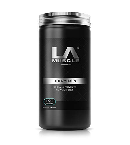 LA Muscle Thermoxen Weight Management Pills 120 Capsules. Rapid fat loss,...