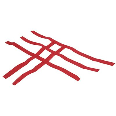 Tusk Comp Series Nerf Bars Replacement Webbing Red -Fits: Honda TRX 400EX 1999-2008