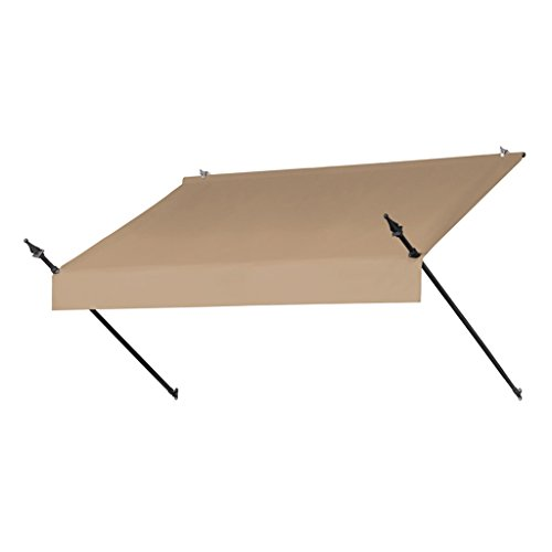 Sunsational Designer Awning - Sunsational Products Replacement Cover for Designer Window Awning - Sand - Size: 8' 3020865