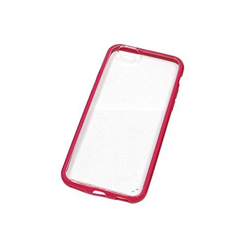 MaximalPower Coque rigide en plastique PC/TPU Bumper Etui Coque de Protection pour Apple iPhone 6 Plus-Rose