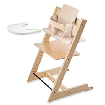 Pleasing Amazon Com Stokke Tripp Trapp Bundle Natural High Caraccident5 Cool Chair Designs And Ideas Caraccident5Info