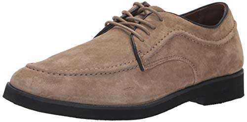 Hush Puppies Men's Bracco MT Oxford, Taupe Suede, 9 M - Puppies Hush Shoes Oxford