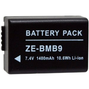 Replacement battery for Panasonic Lumix DMC-FZ150/DMC-FZ6...