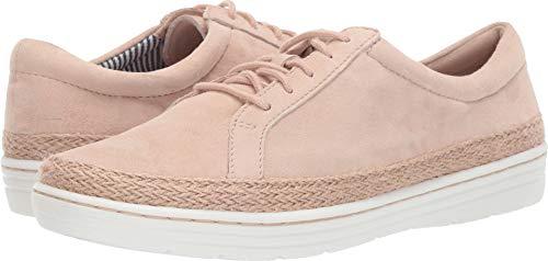 CLARKS Women's Marie Mist Sneaker Blush Nubuck 060 M US ()