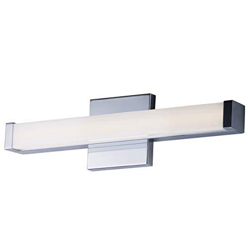 Maxim Lighting 52000PC Signature LED 18 inch Polished Chrome Bath Vanity Wall Light