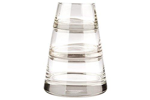 Durobor Vertigo 0797/80 pyramidenförmige Schalen aus durchsichtigem Glas im 3er-Set
