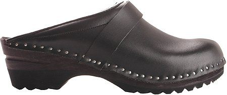 Troentorp Bastad Clogs Women's 4 Star Traditional Slip-on Shoes,Black,EU 37 M by Troentorp Bastad Clogs