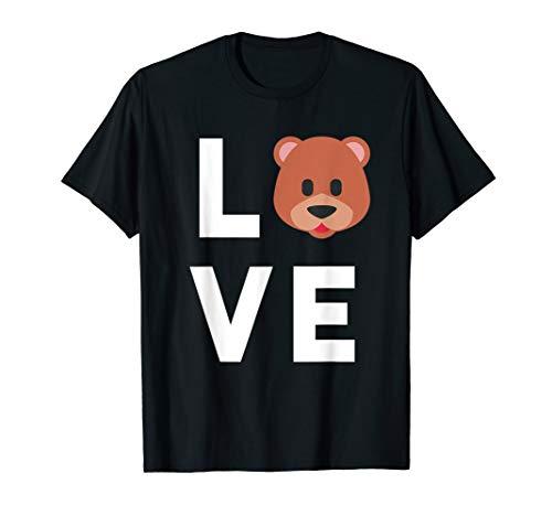 I Love Bears T-Shirt | Cute Funny Bear Lover Gift for Kids]()