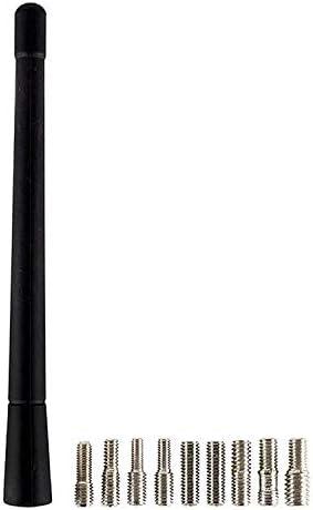 DJFP AERI037 Black Rubber Genuine Replacement Am Fm Aerial Mast Antenna Roof Screw
