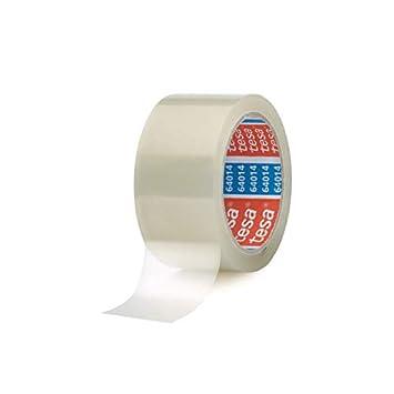 36 Rollen tesapack® 64014 braun leise abrollend Packband Paketklebeband
