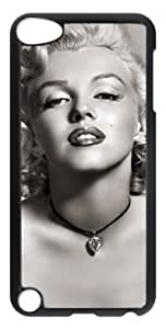 LZHCASE Personalized Protective Case for iPod Touch 5 - Marilyn Monroe