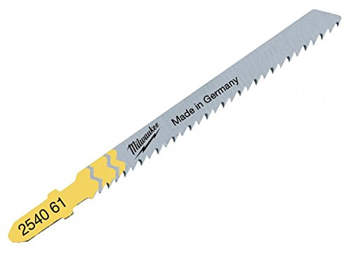 Milwaukee Tools - Jigsaw Blades T101D Wood Clean and Splinter Free (5)