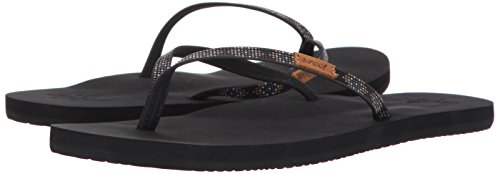 Reef Beads Slim Negro black Mujer Ginger Black Bla Para Chanclas prpxn4qEwv