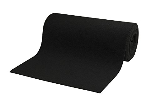 Carpet Carpeting - CE Smith Trailer Roll Carpet, Black, 18