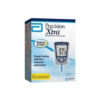 Amazon Com Precision Xtra And Optium Blood Glucose Meters