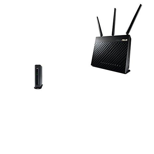 Motorola - 16 x 4 DOCSIS 3.0 Cable Modem - Gray
