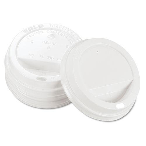 SCCTLP316 - Traveler Drink-thru Lid, White