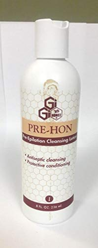 Pre Wax Cleanser - GiGi Pre Hon – Pre-Epilation Cleanser, 8 oz