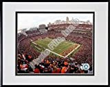 "Cincinnati Bengals ""2006 Paul Brown Stadium"" Double Matted 8"" X 10"" Photograph in a Black Anodized Aluminum Frame"