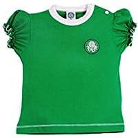 Rêve D'or Sport - Baby Look Clube Palmeiras Menina, 2, Verde
