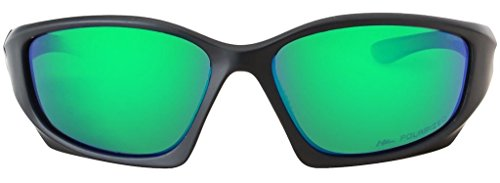 HZ Cadre Lunettes Hornz soleil miroir émeraude Polarized vert mat Verre Séries de noir Premium de Pro zUwzqr