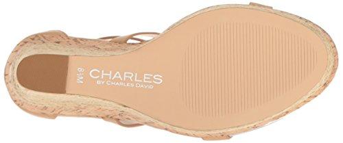 Aden Charles Charles Sandal Nude Women's by David Wedge IfnagB