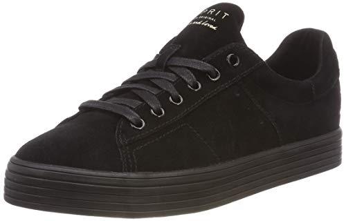 Sita black Femme Sneakers Lace Esprit Noir Basses Up 001 vdZ4axqw