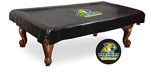 (HBS Northern Michigan Wildcats Billiard Table Cover-9)