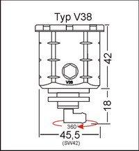 GSG Mototechnik ( ) 製  Kawasaki ZX 10R 2011y'~'モデル用  フロント ブレーキ マスター リザーバー オイル タンク アルミ削り出し アルミ素地のナチュラル(アルマイト加工無)仕様(※商品画像、装着写真共に本商品と違う色、タイプの商品が掲載されていますが、この商品は アルミ素地のナチュラル , アルマイト加工無 , 仕上げの製品です。)   B00KXNZXTC