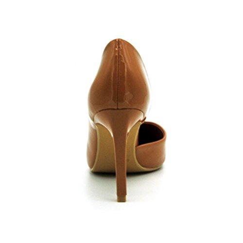 Talon Haut Des Hauts Fins Pointé Les Chaussures Brodés Ont Femmes Mince Bouche Flowers De Talons Xie EO06qwx