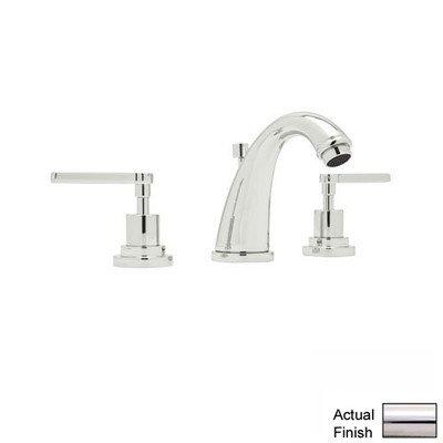 - Avanti Double Handle Widespread Bathroom Faucet with Lever Handle