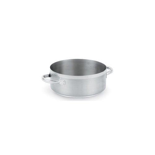 Vollrath (3315) 15 qt Induction Casserole/Brazier Pan