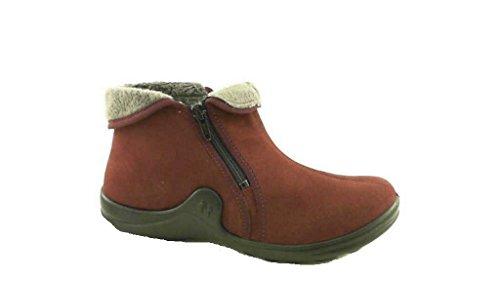Romika Women's Loafer Flats Red-Combi CJ7cC