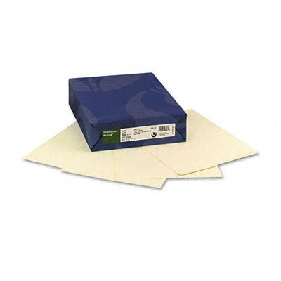 Strathmore Strathmore Cotton Business Laid Finish Paper, Ivory, 24#, Letter, 500 per Ream