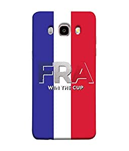 ColorKing Football France 05 Multi Color shell case cover for Samsung J5 2016